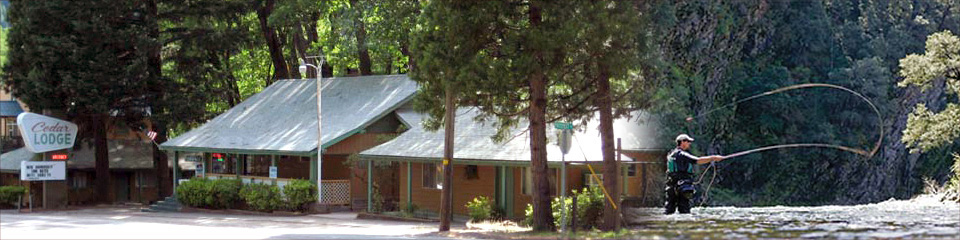 Cedar Lodge Motel in Dunsmuir, California
